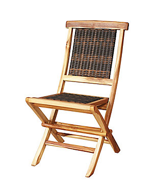 EcoDecors Natural Dining Chair, , rollover