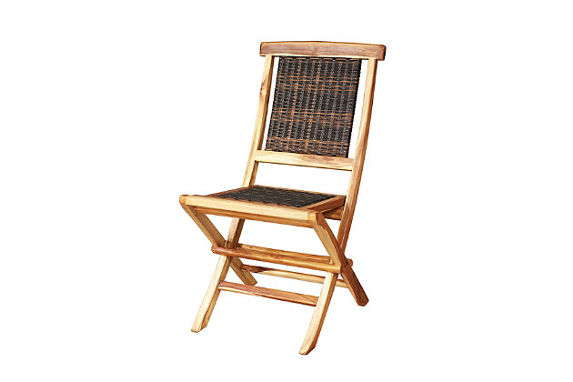 EcoDecors Natural Dining Chair, , large