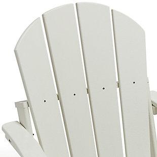 Westin Folding Poly Adirondack Chair, , large