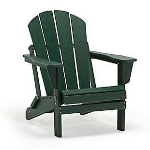 Westin Folding Poly Adirondack Chair, , rollover