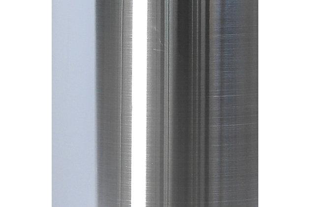 Liam Outdoor Freestanding 47,000 Btu Patio Heater, Silver, large