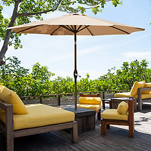 Westin 9 ft. Patio Table Umbrella with Tilt & Crank, , rollover