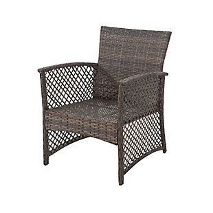 Westin 3-Piece Woven Rattan Wicker Seating Set, , large
