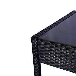 Westin 4-Piece Rattan Wicker Modern Sofa Set, , large