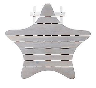 Powell Austin Whitewash Outdoor Folding Table, , large