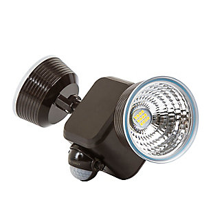 Limitless Dual LED Battery Powered Outdoor Motion Light, Bronze, large