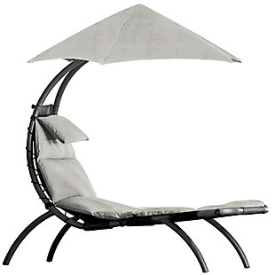 The Original Dream Outdoor Lounger Cast Silver, , large