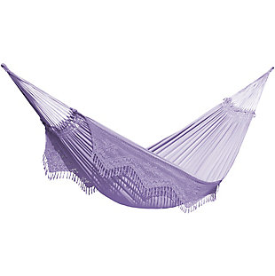 Outdoor Outdoor Authentic Brazilian Elegant Hammock Olinda, , large