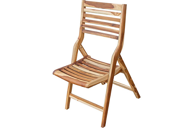 """EcoDecors 18"""" Wide Outdoor Mid-Century Chair, , large"""