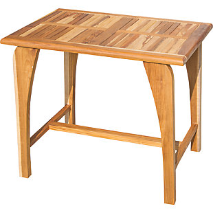 """EcoDecors  Tranquility 36"""" Wide Outdoor Table, , rollover"""