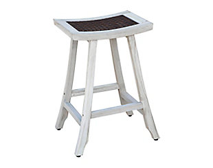 "CoastalVogue  Satori 30"" Tall Outdoor Bar Stool, , rollover"