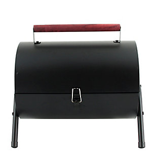 Gibson Home Delwin 5-Piece Carbon Steel Barrel BBQ Set, , large