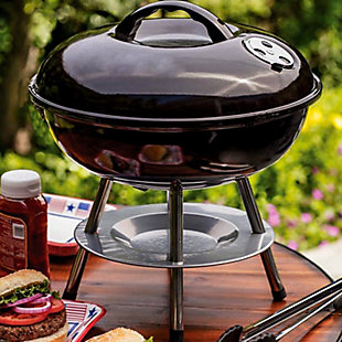 """Better Chef Portable 14"""" Charcoal Barbecue Grill, , rollover"""