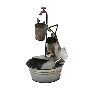 """Gerson International 28.35"""" Outdoor Electric Gardening Tool Water Fountain, , large"""