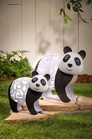 """Gerson International 12.4"""" Outdoor Medium Solar Panda, , rollover"""