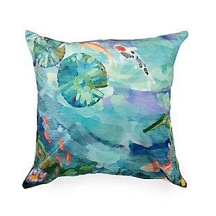 """Cirrus Escape Indoor/Outdoor Pillow Seafoam 18"""" Square, , large"""