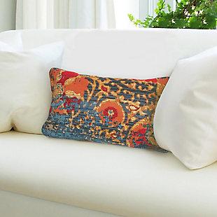 """Gorham Dreamweaver Indoor/Outdoor Pillow Blue 12""""X18"""", , rollover"""