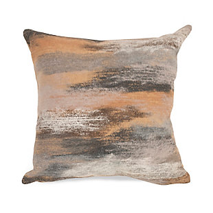 "Spectrum I Dunes Indoor/Outdoor Pillow Taupe 12""X20"", , large"