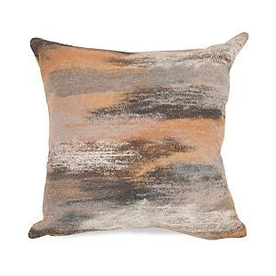 "Spectrum I Dunes Indoor/Outdoor Pillow Taupe 20"" Square, , large"
