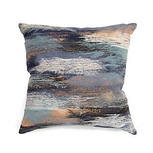"""Spectrum I Dunes Indoor/Outdoor Pillow Denim 12""""X20"""", , large"""