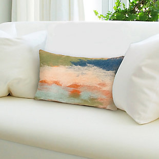 "Spectrum I Dunes Indoor/Outdoor Pillow Multi 12""X20"", , rollover"