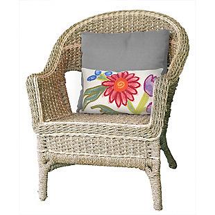 """Spectrum III Wild Bouquet Indoor/Outdoor Pillow Multi 12""""X20"""", , rollover"""