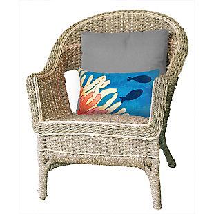 """Spectrum III Sea World Indoor/Outdoor Pillow Coral 12""""X20"""", , rollover"""