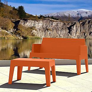 Siesta Outdoor Box Resin Center Table, , rollover