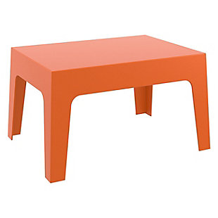 Siesta Outdoor Box Resin Center Table, , large
