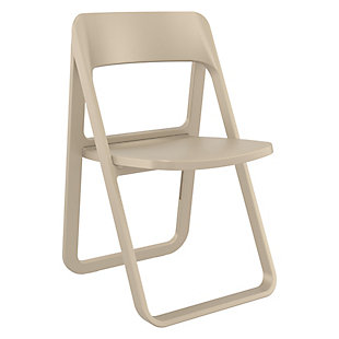 Siesta Outdoor Dream Folding Chair Taupe, , large