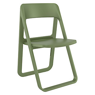 Siesta Outdoor Dream Folding Chair Olive Green, , large