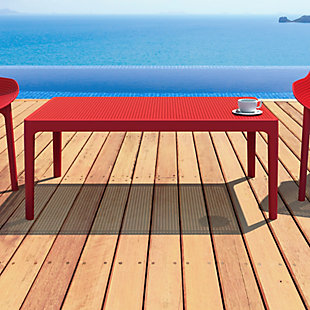 """Siesta 39"""" Outdoor Sky Lounge Table, , rollover"""