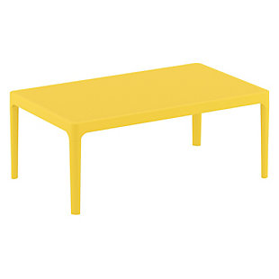 """Siesta 39"""" Outdoor Sky Lounge Table, , large"""