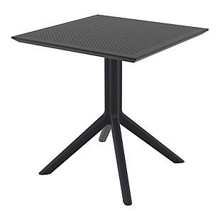 "Siesta 27"" Outdoor Sky Square Table, , large"