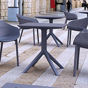 """Siesta 27"""" Outdoor Sky Square Table, , rollover"""