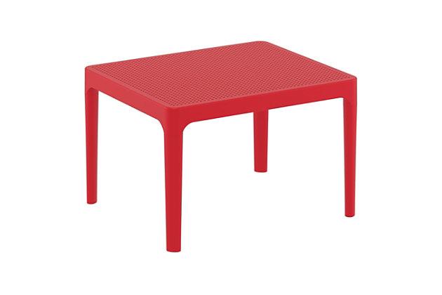 "Siesta 24"" Outdoor Sky Side Table, , large"