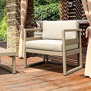 Siesta Outdoor Mykonos Patio Club Chair with Sunbrella Cushion, , rollover