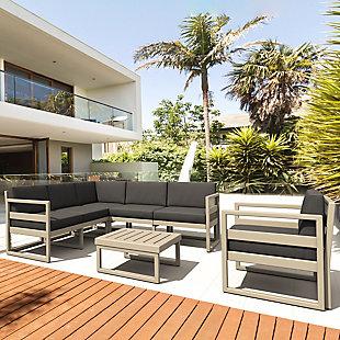 Siesta Outdoor Mykonos Extension with Sunbrella Cushion, , rollover