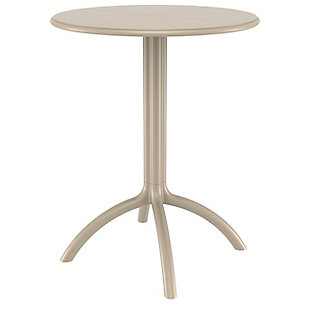 Siesta Outdoor Octopus Round Bistro Table, , large