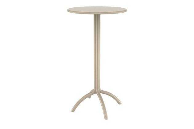 Siesta Outdoor Octopus Round Bar Table, , large