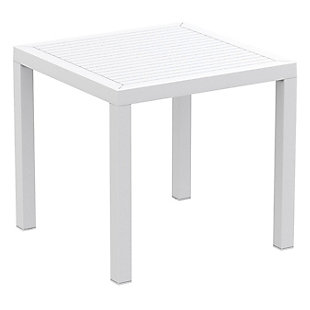 Siesta Outdoor Ares Resin Square Dining Table, , large
