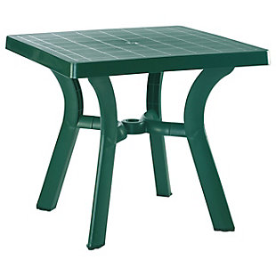 "Siesta 31"" Outdoor Viva Resin Square Dining Table, , large"