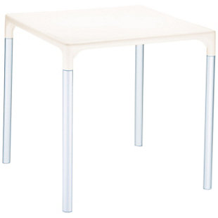 Siesta Outdoor Mango Alu Square Table, , large