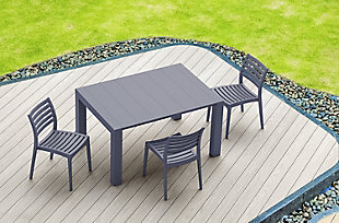 Siesta Outdoor Vegas Dining Extendable Table, , large