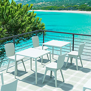 Siesta Outdoor Mango Square Dining Table, , rollover