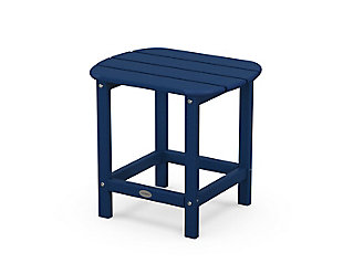 """South Beach 18"""" Side Table, Navy, large"""