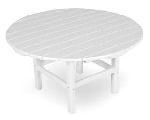 """Round 38"""" Conversation Table, , rollover"""
