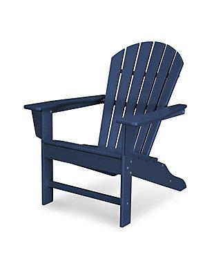 South Beach Adirondack Chair, Navy, large