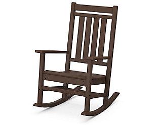 Estate Rocking Chair, Mahogany, large