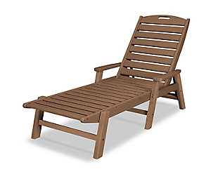 Nautical Chaise with Arms, , large